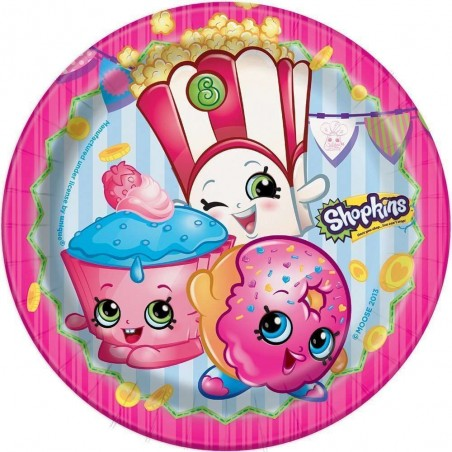 Shopkins Small Plates (8)