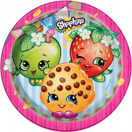 Shopkins Large Plates (8)