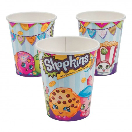 Shopkins Paper Cups (8)
