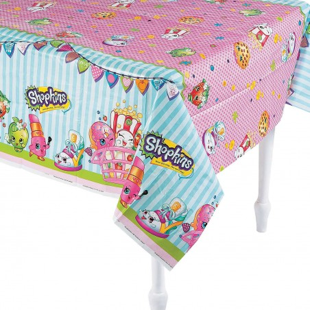 Shopkins Plastic Tablecloth