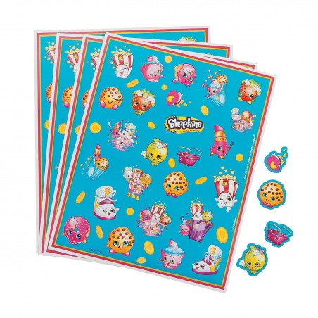 Shopkins Stickers (4 Sheets)