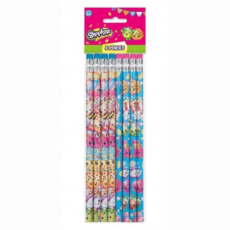 Shopkins Pencils (8)