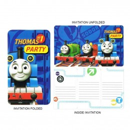 Thomas and Friends Party Invitations (8)