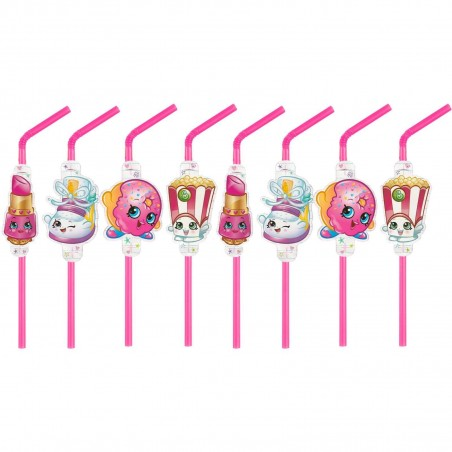 Shopkins Drinking Straws (8)