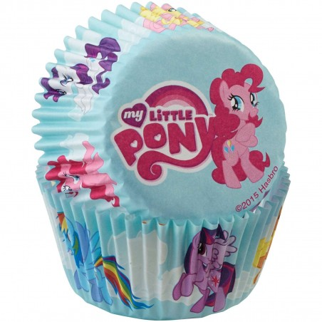 My Little Pony Baking Cups Patty Pans (50)