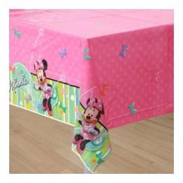 Minnie Mouse Bowtique Plastic Tablecloth
