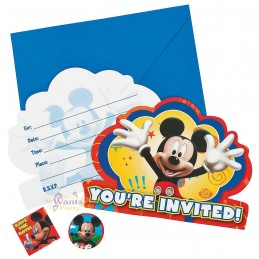 Mickey Mouse & Friends Party Invitations (8)