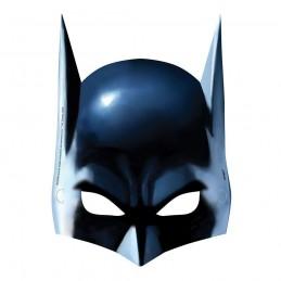 Batman Party Masks (Pack of 8)