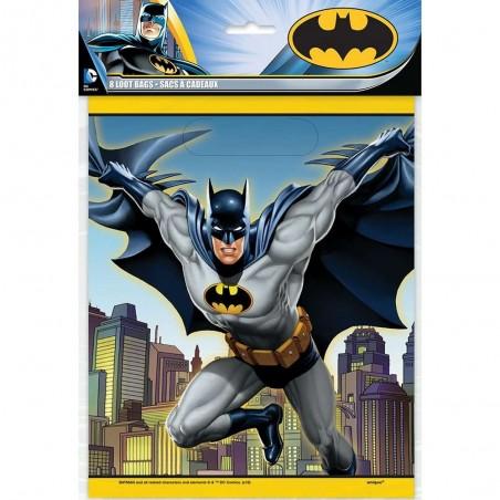Batman Loot Bags (Pack of 8)