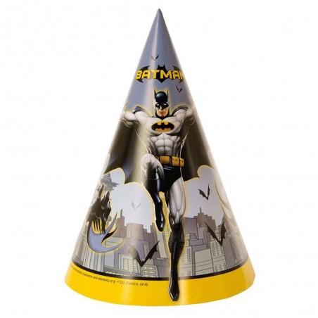 Batman Party Hats (Pack of 8)