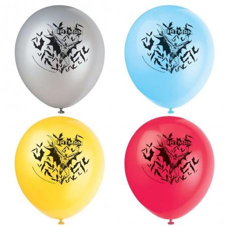 Batman Balloons (Pack of 8)