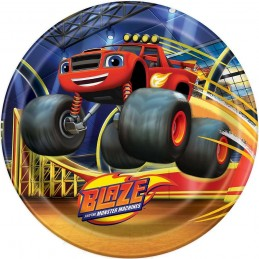 Blaze and the Monster Machines Large Plates (8)