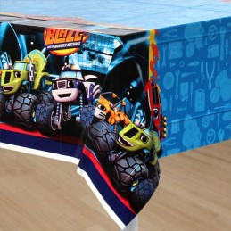 Blaze and the Monster Machines Plastic Tablecloth