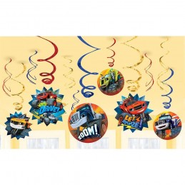 Blaze and the Monster Machines Swirl Decorations (12)