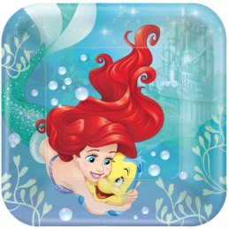 Ariel The Little Mermaid Dream Big Large Plates (8)