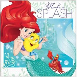 Ariel The Little Mermaid Dream Big Small Napkins (16)