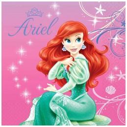 Ariel The Little Mermaid Large Napkins (16)