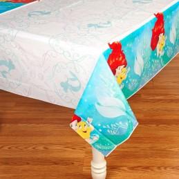 Ariel The Little Mermaid Dream Big Plastic Tablecloth