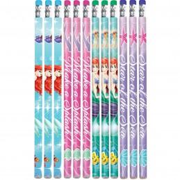 Ariel The Little Mermaid Pencils (Pack of 12)