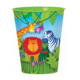 Jungle Animals Large Plastic Cup