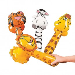 Inflatable Zoo Animal Hammers (4)