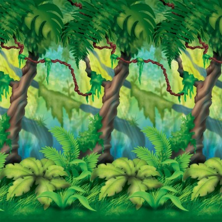 Jungle Trees Backdrop
