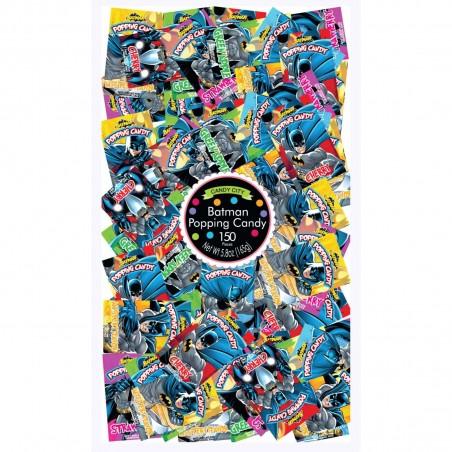 Batman Popping Candy Lollies