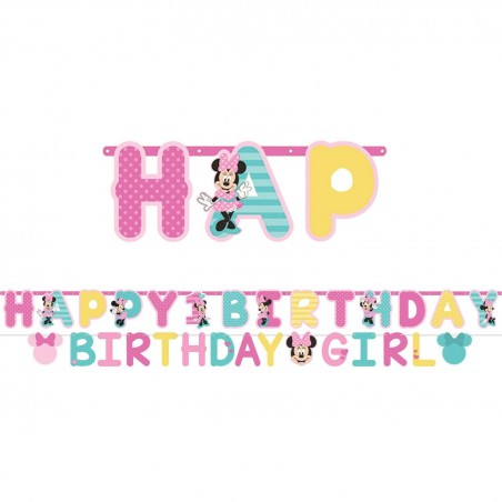 Minnie Mouse 1st Birthday Party Banner Kit
