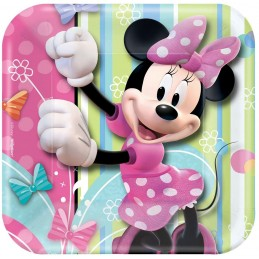 Minnie Mouse Bowtique Small Plates (Pack of 8)