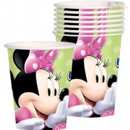 Minnie Mouse Bowtique Paper Cups (Pack of 8)