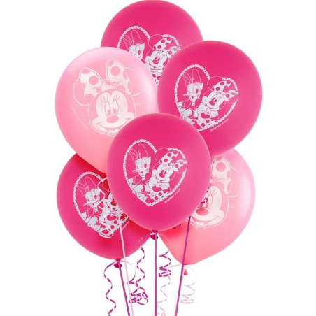 Minnie Mouse Balloons (Pack of 6)
