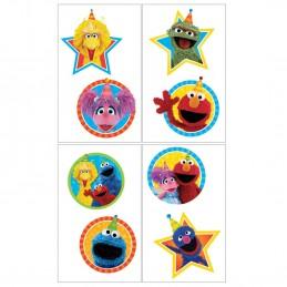 Sesame Street Tattoos (Set of 8)