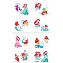 Ariel The Little Mermaid Tattoos (Set of 8)