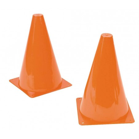 Plastic Orange Traffic Cones (Pack of 12)