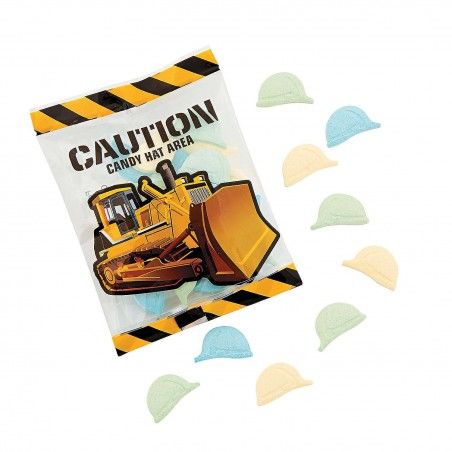 Construction Hard Hats Lollies