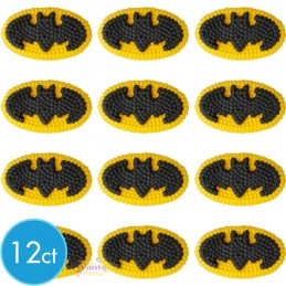 Batman Icing Decorations (Pack of 12)