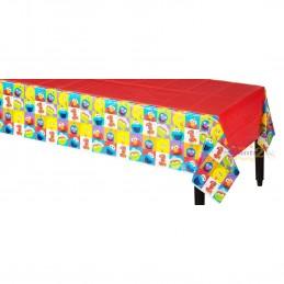 Elmo 1st Birthday Plastic Tablecloth