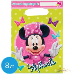 Minnie Mouse Bowtique Loot Bags (8)