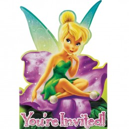 Tinkerbell Party Invitations Set (8)