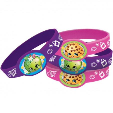 Shopkins Wristbands (Pack of 4)