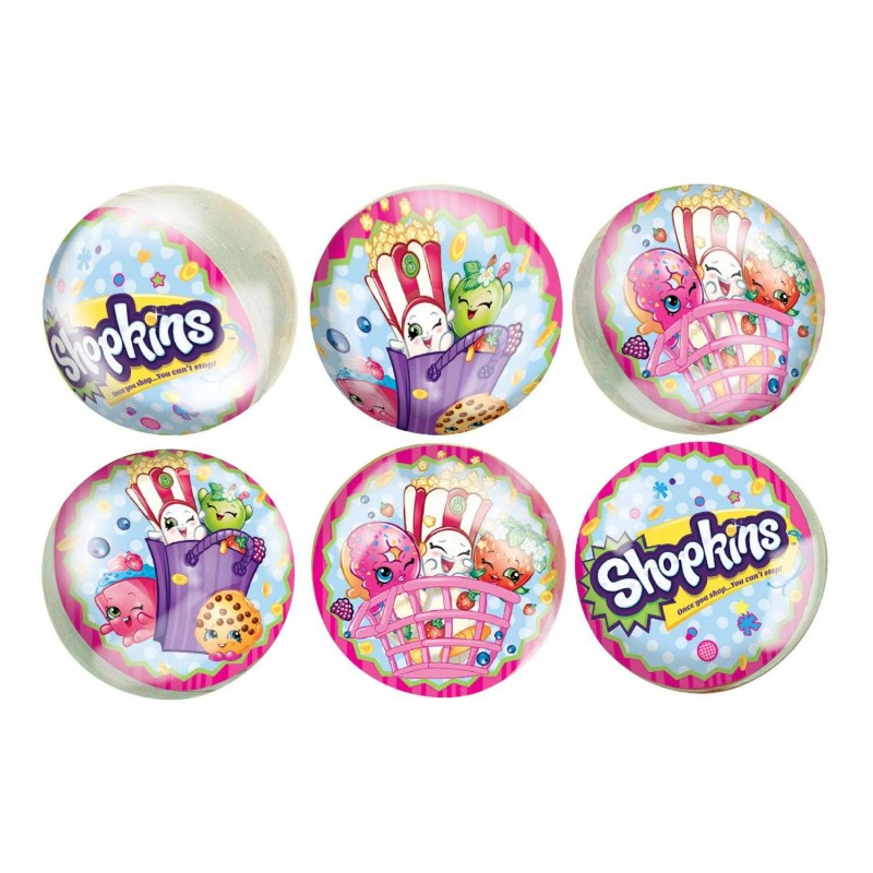 Shopkins Bounce Balls (Pack of 6)