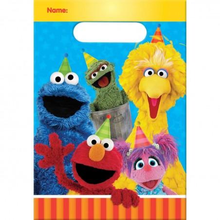 Sesame Street Loot Bags (Pack of 8)