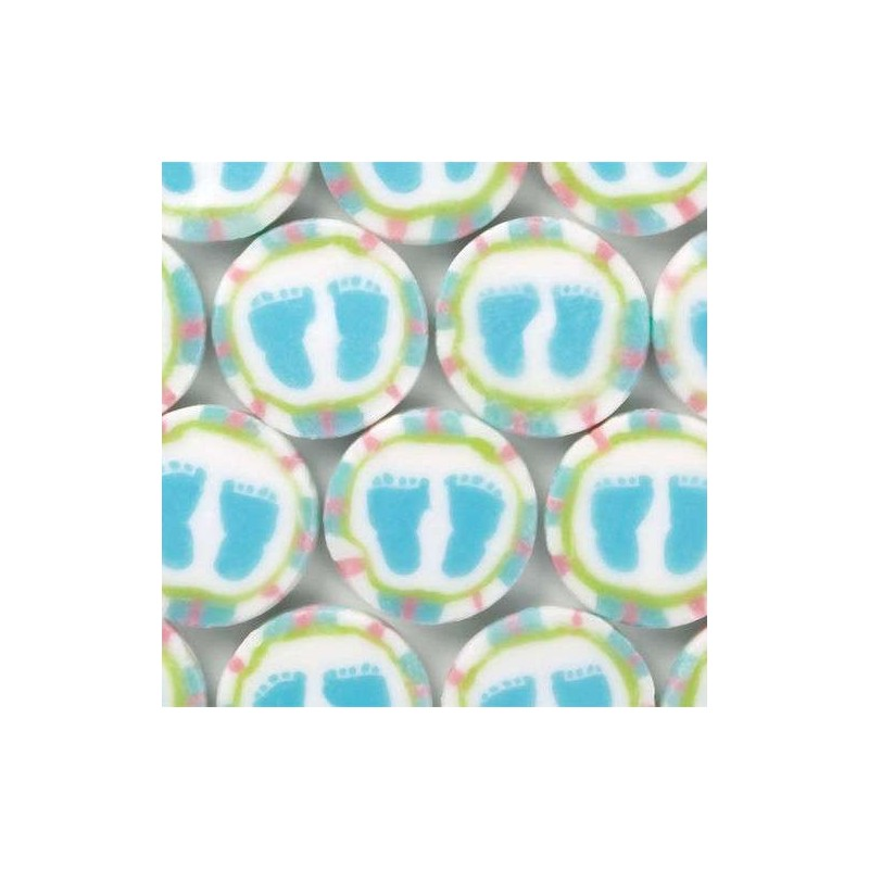Pastel Baby Feet Baby Shower Candy (Pack Of 40)