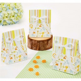 Happy Jungle Favour Boxes (Pack of 12)