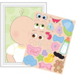 Baby Shower Baby Looks like Game (Set of 8)