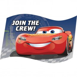 Cars 3 Party Invitations (Pack of 8)