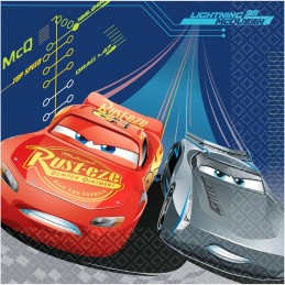 Cars 3 Large Napkins (Pack of 16)