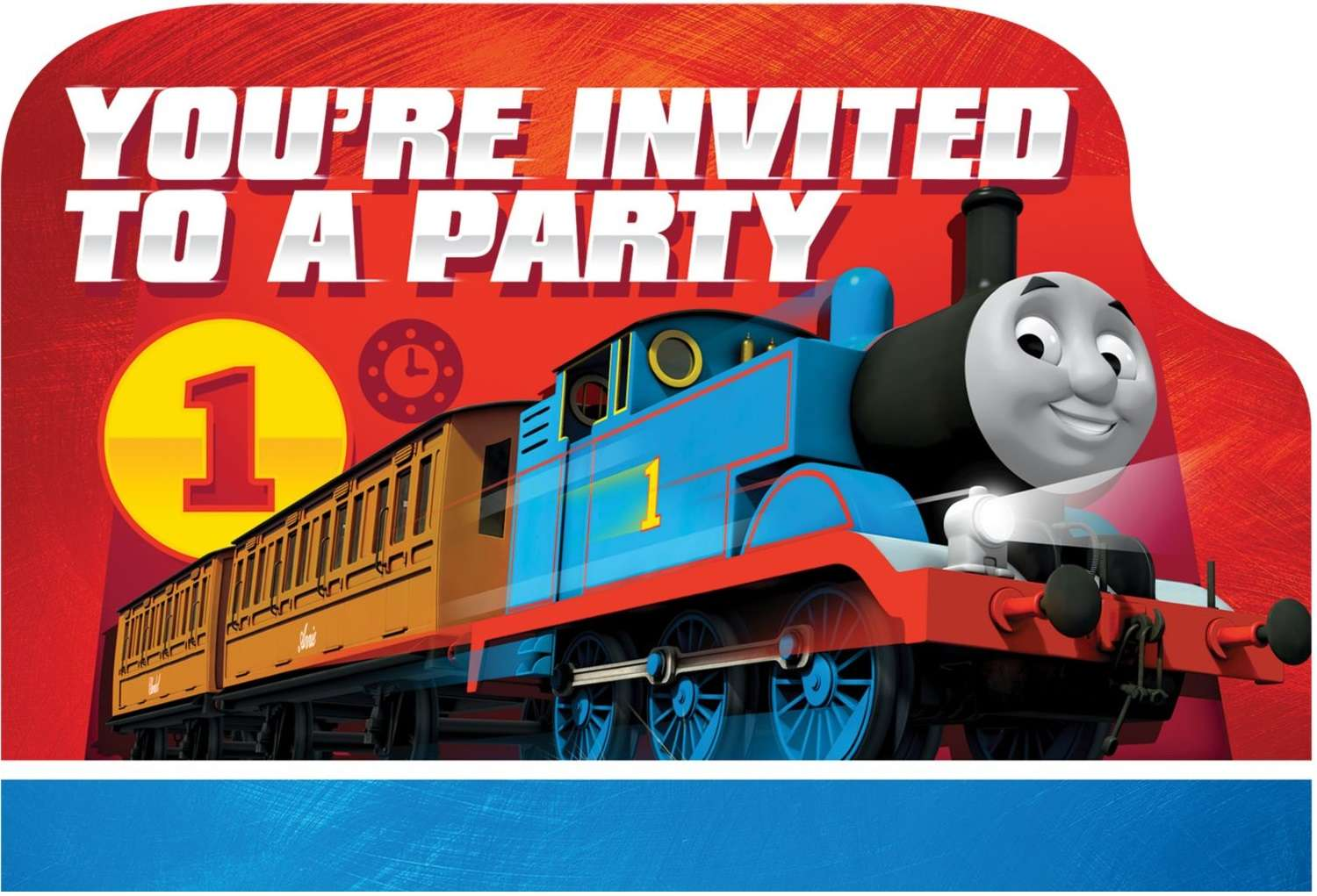 Thomas the Tank Engine Party Invitations (Pack of 8) - Thomas the ...