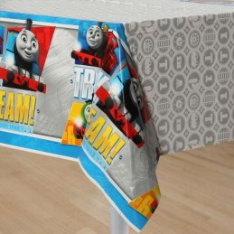 Thomas the Tank Engine Plastic Tablecloth