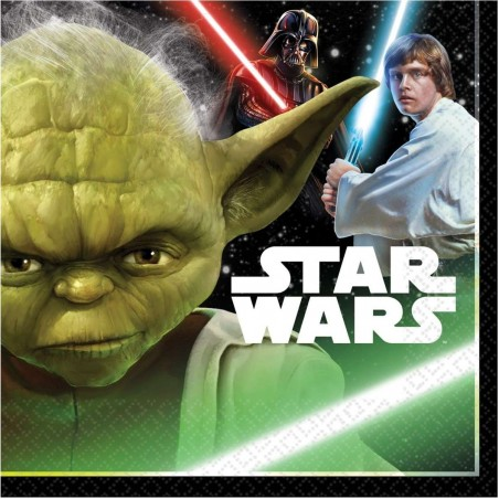 Star Wars Large Napkins (Pack of 16)